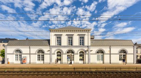 Stationsgebouw Wetteren