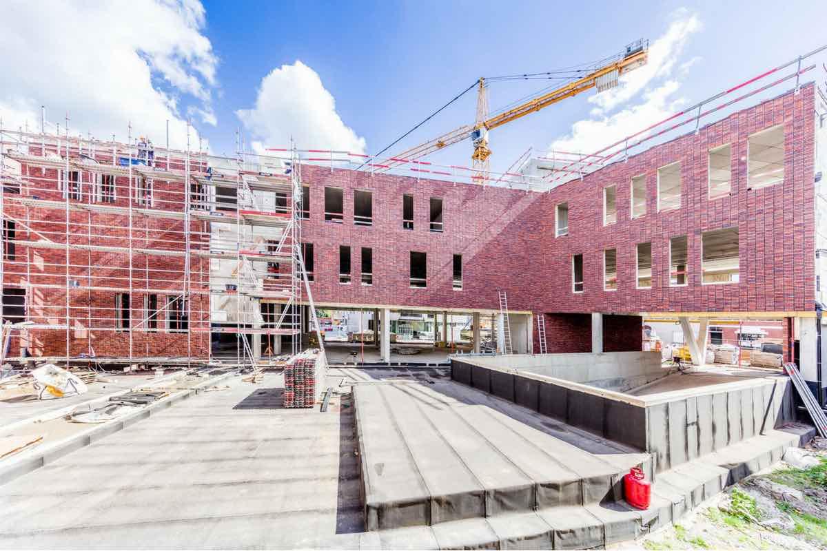 Wuitenhart in volle opbouw