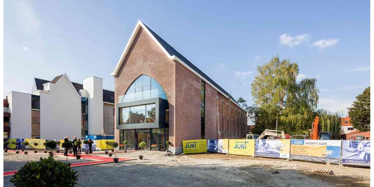 Modern begijnhof in bruisend Gent