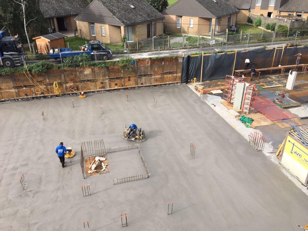 450m² beton in Moeskroen