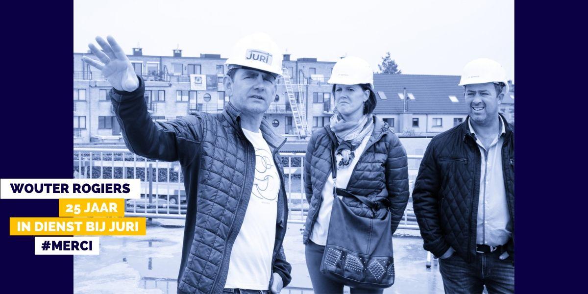 25 jaar loyaal: Wouter Rogiers